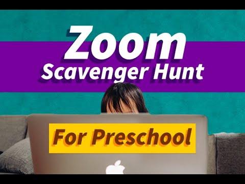 Virtual Scavenger Hunt For Kids Zoom Activities For Teachers Youtube