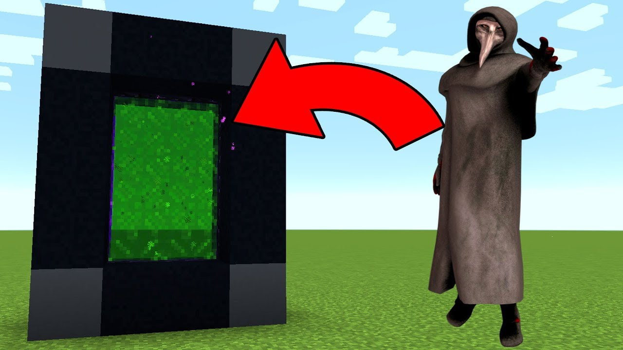 HOW TO MAKE A PORTAL TO THE SCP 10 DIMENSION! - MINECRAFT PLAGUE DOCTOR