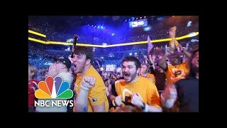 Esports  Nside The World Of Competitive Gaming  NBC News