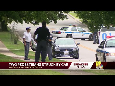 Grandmother, child killed by vehicle in Timonium