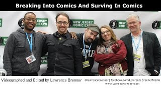 Breaking Into And Surviving In Comics at NJCE 2015