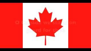 o canada folk english national anthem lyrics