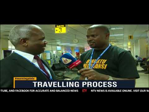 ON THE GROUND: Testing the travelling process at Entebbe Airport