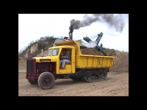 Bucyrus-Erie 50-B Steam Shovel - Sept. 2000 - Part 1