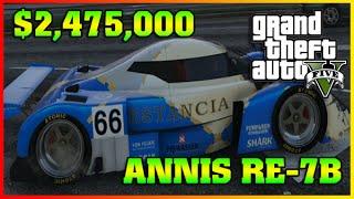 ANNIS RE-7B Fully Upgraded   Cunning Stunts   GTA 5 Online DLC