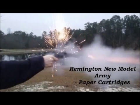 Remington New Model Army (1858) - Paper Cartridges
