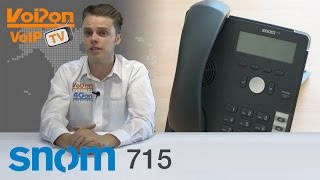 snom 715 VoIP Phone Video Review / Unboxing