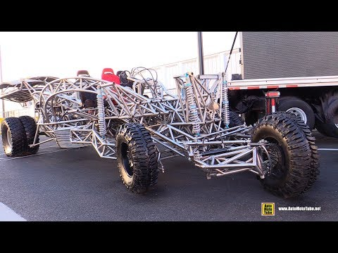 The Flux Capacitor Tube Frame Desert Vehicle by Mirage Garage - Walkaround - SEMA 2016