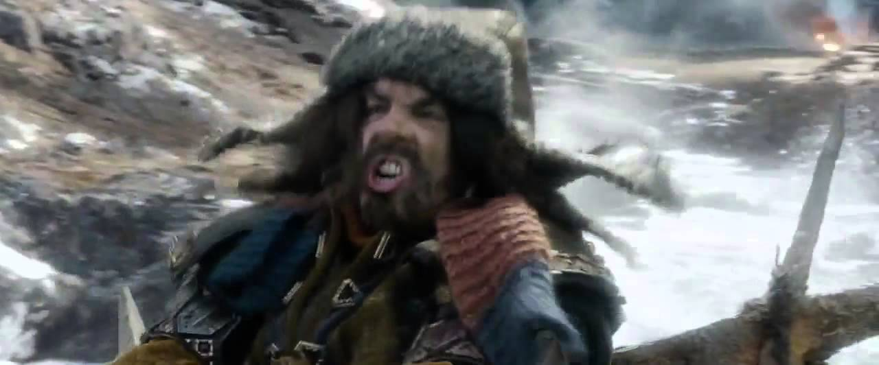troll riding a goat the hobbit the battle of five armies deleted scene the ride to