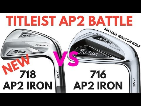 Titleist 718 AP2 Iron VS Titleist 716 AP2 Iron - Is The Newer Model Better?