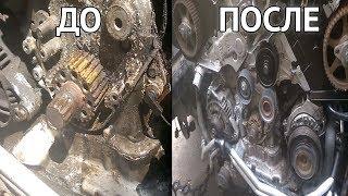 Чем мыть двигатель автомобиля своими руками - пример использования моющих средств