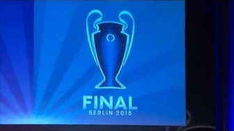 Champions-League-Pokal ist in Berlin
