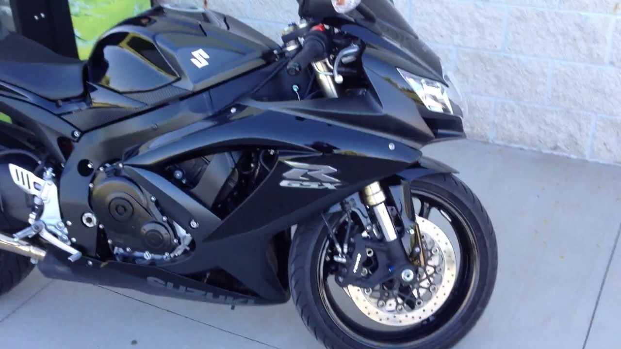 Quick Tour: 2008 Suzuki GSXR600 - YouTube