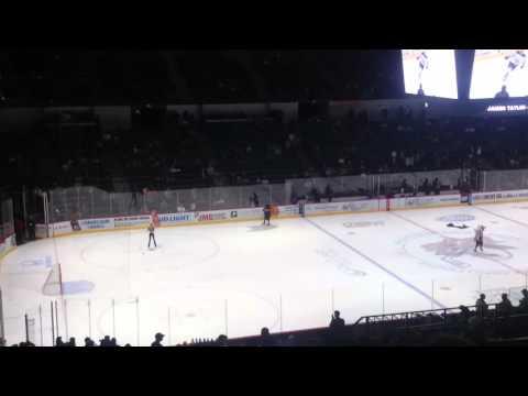 AHL San Diego Gulls starting lineup @ Valley View Casino Center 3/18/16