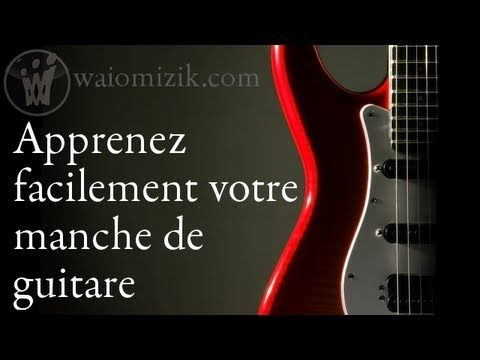 apprendre facilement les notes sur le manche de la guitare youtube. Black Bedroom Furniture Sets. Home Design Ideas