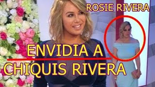 CHIQUIS RIVERA despierta la ENVIDIA de su tìa ROSIE RIVERA MIRADA MATADORA