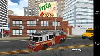 Firefighter Truck Simulator 3D - Android Gameplay screenshot 5