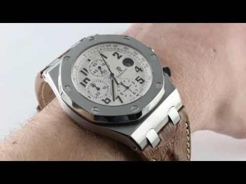 "Pre-Owned Audemars Piguet Royal Oak Offshore ""Safari"" 26470ST.OO.A801CR.01 Luxury Watch Review"