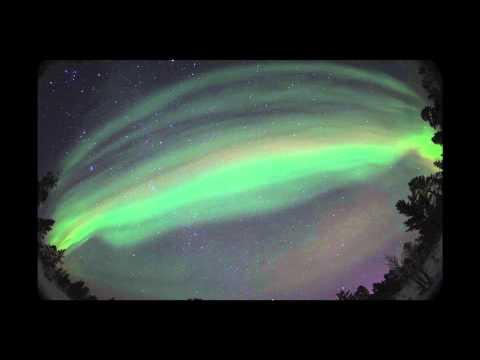 Aurora Borealis (1.5min) - Ivalo Finland Lapland, Kakslautanen Igloo Village.