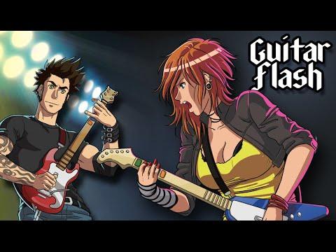 play Guitar Flash on pc & mac