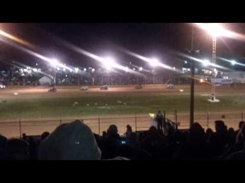 MSCS Sprint Car B Main Part 3/3 Lincoln Park Speedway