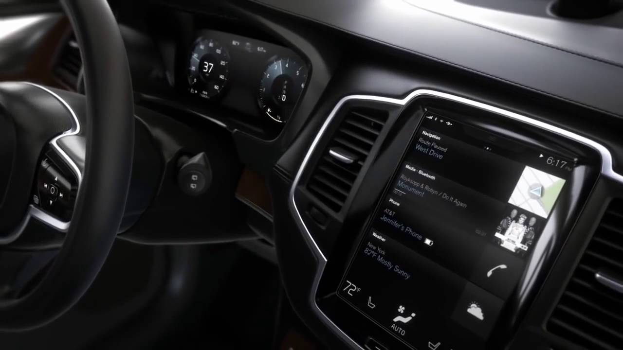 First Look Inside The All New Volvo Xc90 Sport Cars Video Sport