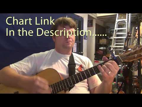 She Thinks My Tractor's Sexy (Kenny Chesney) Guitar Chord Chart - Capo 1st