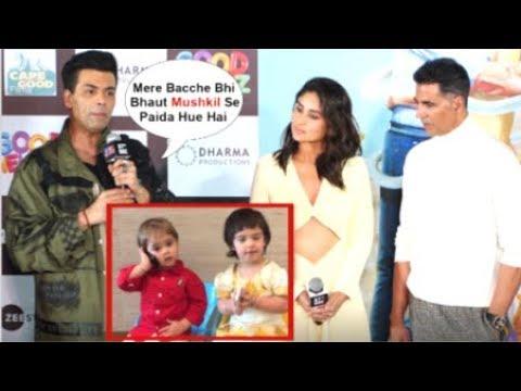Karan Johar EMOTIONAL Reaction On Giving BIRTH To His Kids Yash & Roohi Through Surogacy