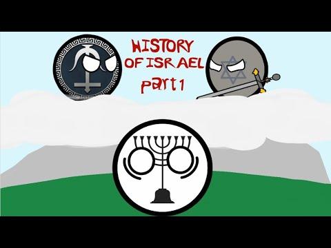 History Of Israel  Countryballs  part 1
