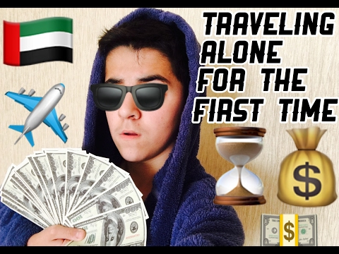 (DUBAI) TRAVELING ALONE FOR THE FIRST TIME!!