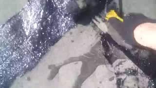Ремонт кровли гаража битумной мастикой(Ремонт кровли гаража битумной мастикой., 2016-06-16T17:38:47.000Z)