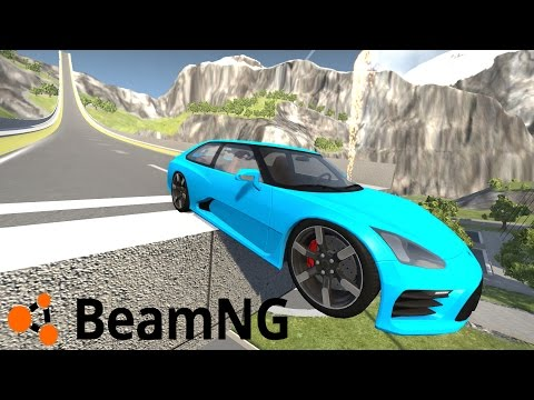 "SKOKI NARCIARSKIE + Maluch Fiat 126p w BEAMNG.DRIVE ""CAR JUMP ARENA"" #30 [PL/HD]"