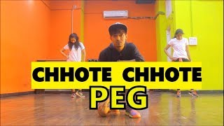 Chhote Chhote Peg Dance Choreography I Vicky and aakanksha