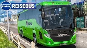 ETS 2 Coach #1: Im SCANIA Touring Reisebus von München nach Salzburg! | EURO BUS SIMULATOR