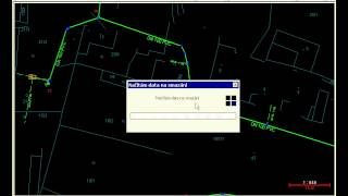 Cadastral map update - exchange all data content