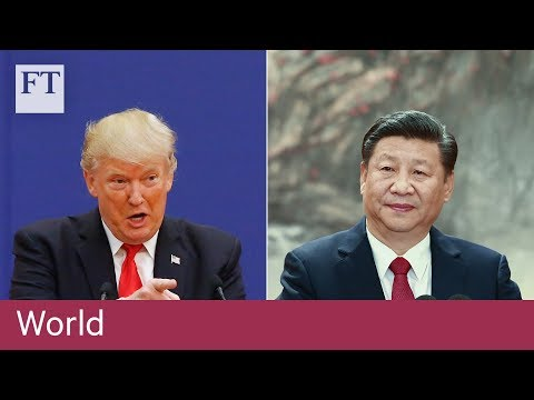 Xi faces off against Trump over trade