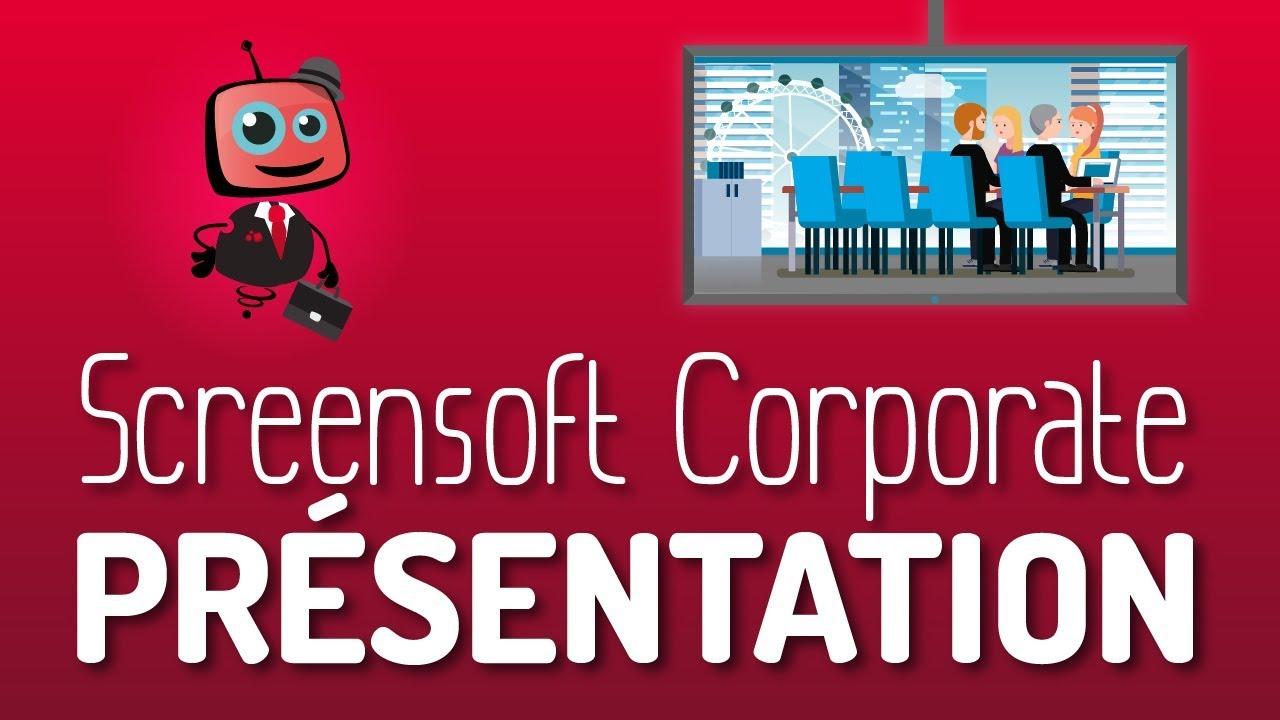 vid u00e9o de pr u00e9sentation   logiciel d u0026 39 affichage dynamique pour les entreprises