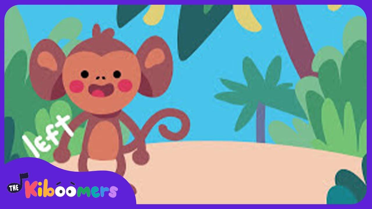 Funky Monkey Monkey Dance Song For Kids The Kiboomers Youtube