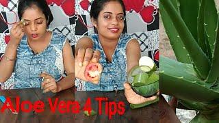 4 beauty tips of aloe vera
