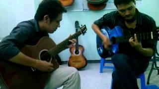 Lambada - song tấu guitar