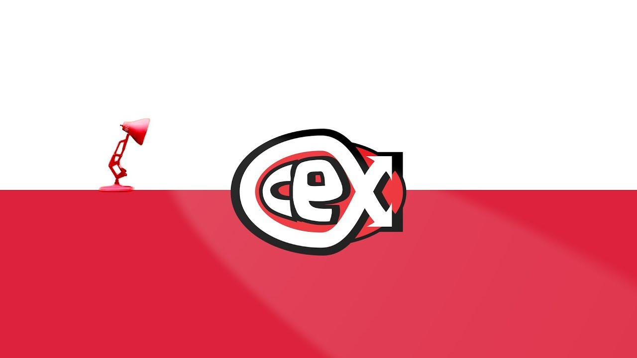 1011 CeX Spoof Pixar Lamp Luxo Jr Logo