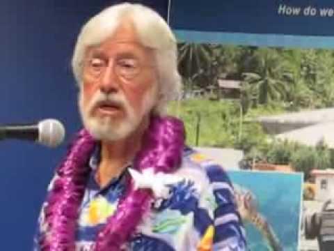 Jean Michel Costeau in American Samoa