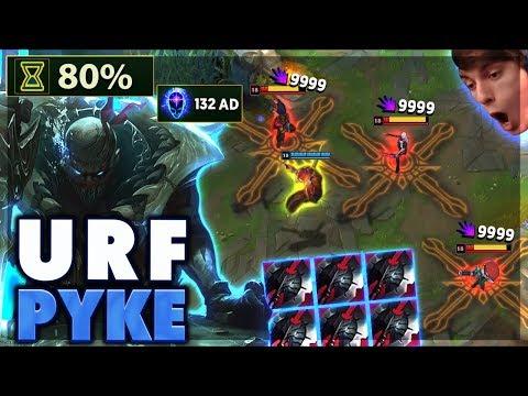 THE ONLY URF PYKE VIDEO ON YOUTUBE - BunnyFuFuu