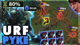 THE ONLY URF PYKE VIDEO ON YOUTUBE - BunnyFuFuu