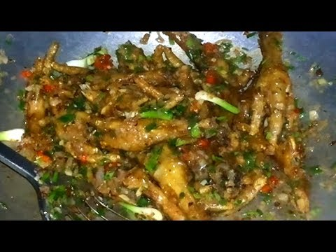 Thumbnail: How To Make Crispy Chicken Feet - Chicken Feet Recipe At Home - Village Food Recipe