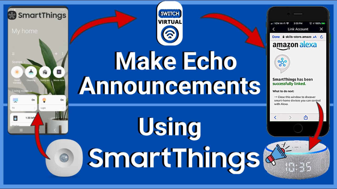 Trigger Echo Announcements  with SmartThings Automations