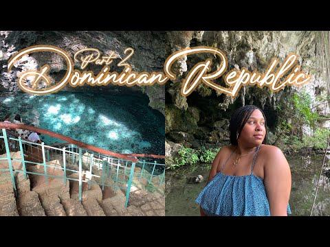 DOMINICAN REPUBLIC TRAVEL VLOG pt.2: exploring santo domingo, los tres ojos & more! | Simply Soribel