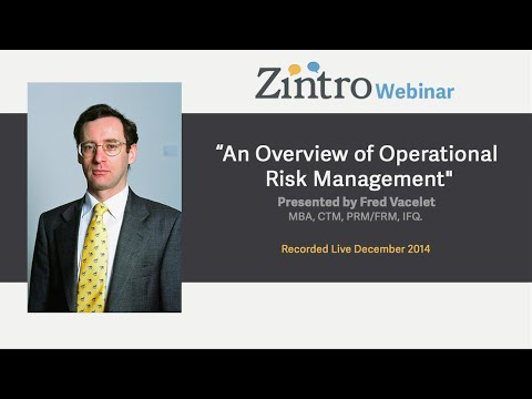 """An Overview of Operational Risk Management"""