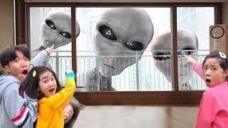 Boram et Lismo ont une fête d'Halloween Amis de jouer ensemble