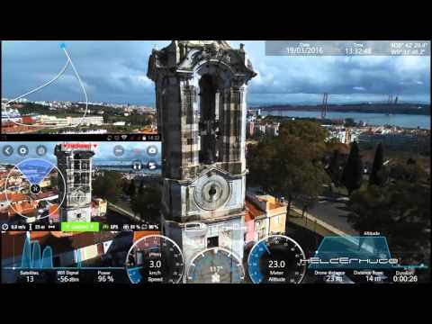 Going to Lisbon with Parrot Bebop 2 Drone